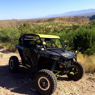 Out hard on the trails in S. Arizona