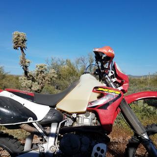 XR650R Desert Forest AZ.