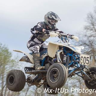 First race of season with new ODI ATV lock on grips!