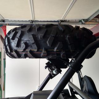 Tusk Spare Tire Carrier Combo Kit Utv Rocky Mountain