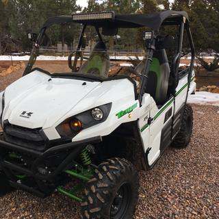 This is our 2016 Kawasaki Teryx with the kit installed.