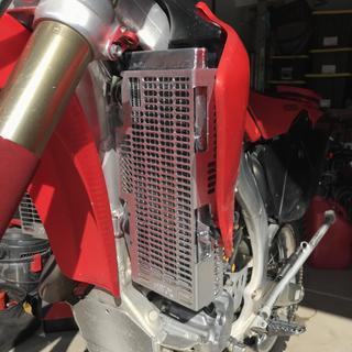 Devol Extreme Radiator Guards for Honda CR125R 2002-2004