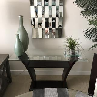 Arrived quicker than promised and fit perfectly with dining table and chairs we purchased.