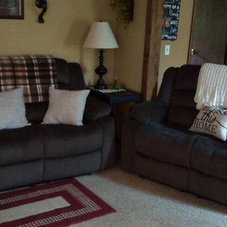 My new living room!! Thanks Raymour & Flanagan!