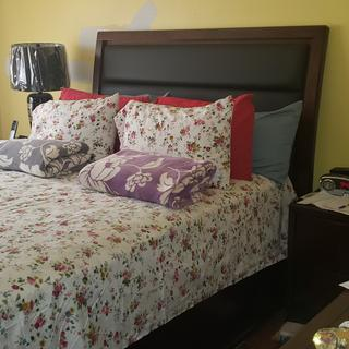 This bedroom set is awesome  Thanks to jo-jo she's was so patient and kind to help me
