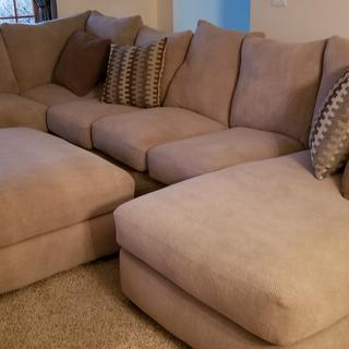 In love with our new sectional!