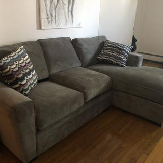 Love my sofa from Raymour&Flanigan!!