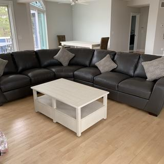 Beautiful high quality sectional