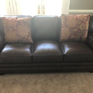 Sofa.  Very comfortable. Well made.