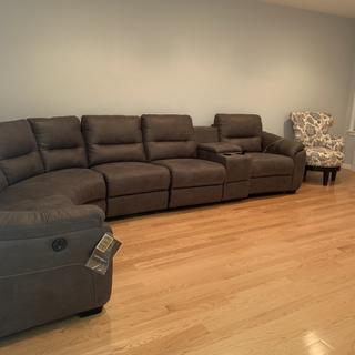 I am very happy with my sectional. Couldn't choose anything better. I love it ??