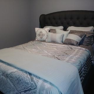 I love my new bed!!! Still decorating the room.
