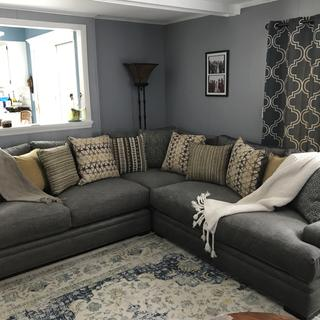 Love our new sectional.