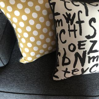 Close up of pillows