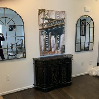 The look amazing in our entryway.