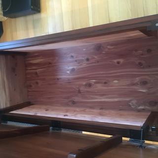 Inside chest