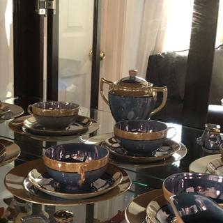 """My grandmothers """"carnival glass"""" dishes are finally on display"""