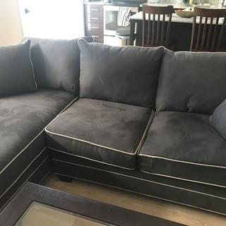 Super comfortable, super soft! Very deep back couch, easy clean. Would 100% recommend.