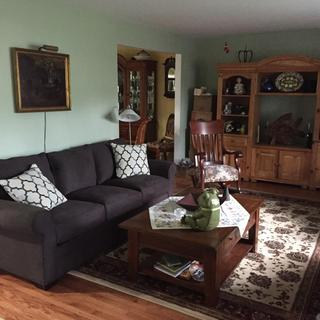 Glendora Microfiber Sofa Slate Raymour Amp Flanigan