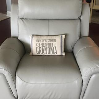 Cozy enough for grandma & grandchild.