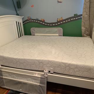 Full size memory foam mattress for my todddler