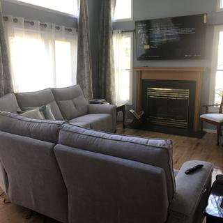 Very happy with this couch!  Highly recommend!