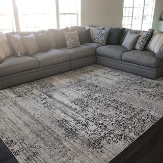 perfect sectional for size room!