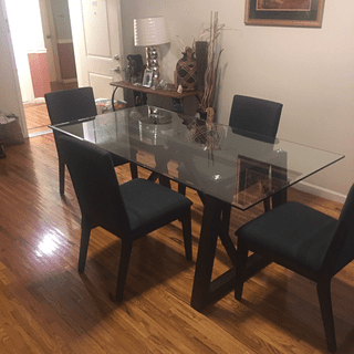 This 5 piece dining set was perfect !!!