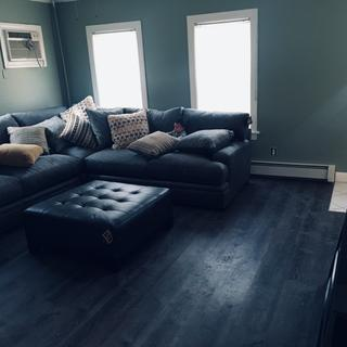 Fits perfect in my living room, large and comfy set! Love it.