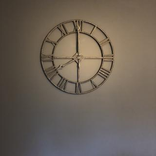 Absolutely love our new clock! Looks awesome on the wall!! Nice quality, super easy to hang!
