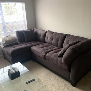 Amazing couch, i would buy it again if I needed to. Confortable, and durable.