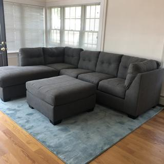 Love our new couch! Comfortable and beautiful