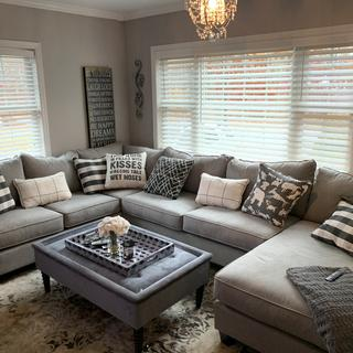 Absolutely love this couch. It's comfy and fits perfectly in my home!
