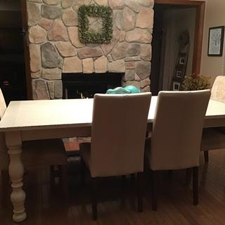 Loving my new country table!  Lots of compliments!