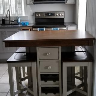 Just a great functional kitchen table.