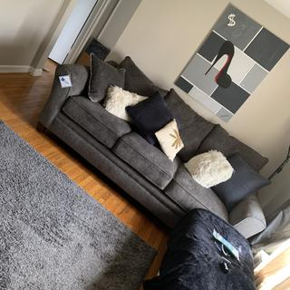Best couch I've ever sat on super comfy and cozy! Would highly recommend!