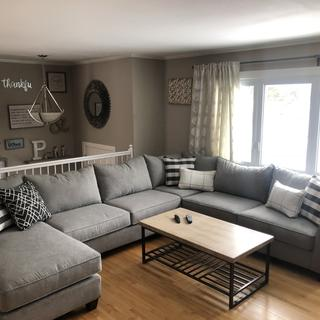Beautiful comfy sectional. ????????