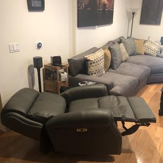 Open recliner