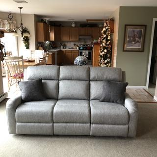 Our new sofa!!