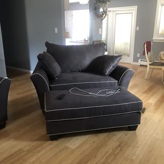 Got the chair and 1/2 to go with sofa, love both!