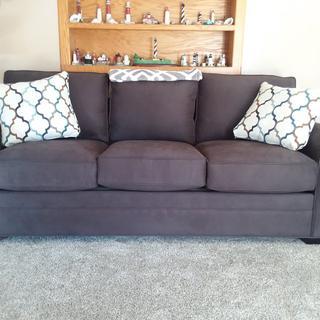 Glendora Microfiber Sofa.