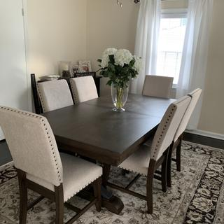 Loving our new dining room!