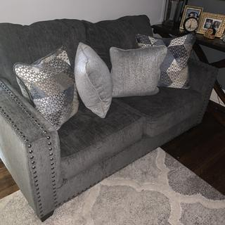 Love my new sofa set!!!! Comfy and for a good price!!