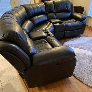 Very Comfortable. Perfect Fit for the room I wanted it in. Thank You Raymour & Flanigan.