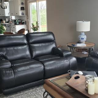 We were looking for a liveseat to match our existing sofa. Perfect!