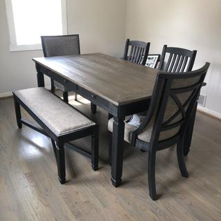 I LOVE LOVE my new dining room set!!!