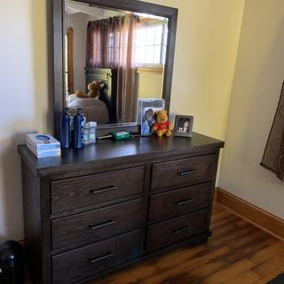 Dresser fit perfectly ??