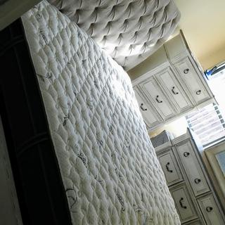 King Koil Natural Response Select Leighton Firm King Mattress and Reverie 3EM Adjustable Base(s). ??