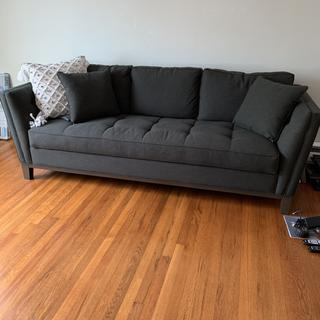LOVE this couch! Not only is it extremely comfy, it's very sturdy! Great purchase