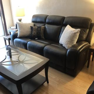 I'm happy I can't wait to buy the matching love seat and chair!
