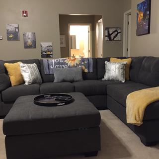 It's a beautiful set and looks wonderful